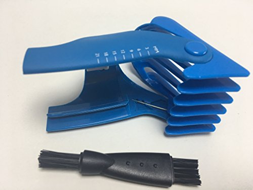 New Haircut Kids Baby Comb Trimmer HAIR CLIPPER BEARD For Philips Norelco COMB CC5059 CC5060 CC5059/60 3-21MM Men's clipper hair Shaver Rzaor head Plastic Blue Accessories Replacement Parts