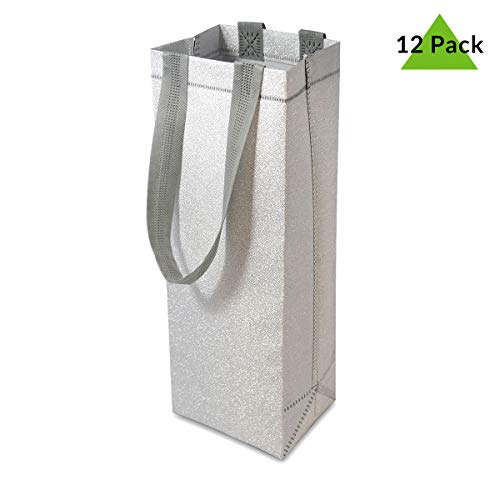12 Premium Quality Reusable Wine Gift Bags with Sturdy Handles and Tags Perfect for Party Favours Weddings House Warming Gifting 5