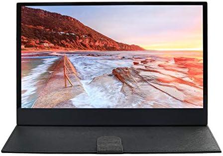 WIMAXIT Portátil Pantalla Táctil de 13,3 Pulgadas IPS Ultra Slim 1920x 1080 Display 10 Capacitiva Touch HDMI Monitor, 5V 2A USB Alimentado con Electricidad, ...