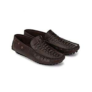 Braavosi Men's Brown Casual Loafers