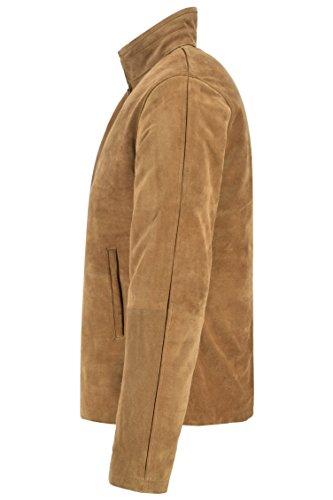 espectral cuero marrón 5917 para Chaqueta James Craig Bond Daniel hombre serraje blusón zaqUAppng