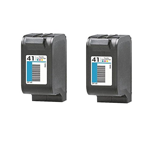 2 Pack HP 51641A Premium Remanufactured High Value Color Inkjet Cartridge