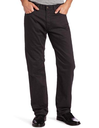 (Levi's Men's 505 Regular Fit Twill Pant, Graphite, 36x32)