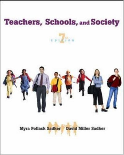 david sadker Rent teachers, schools, and society 4th edition (978-0078110436) today, or  search our site for other textbooks by david m sadker every textbook comes  with.