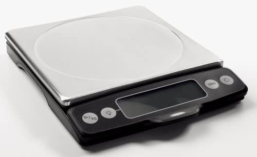 amazon com oxo good grips stainless steel food scale with pull out