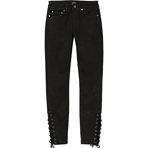 - RVCA Junior's Dayley Skinny Stretch Denim Jean, Black, 24