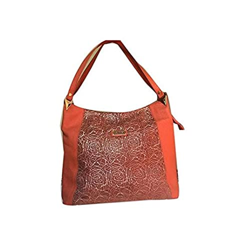 1cd5029449a9 Buy Sai Leela Women s Leather Designer Handbag (Orange