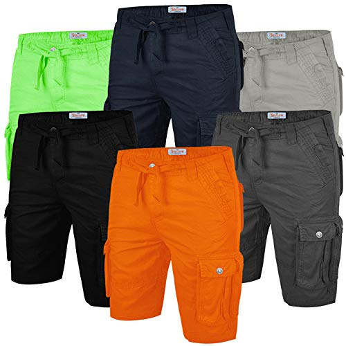 Stallion Mens Cargo Combat Summer Casual Cotton Shorts