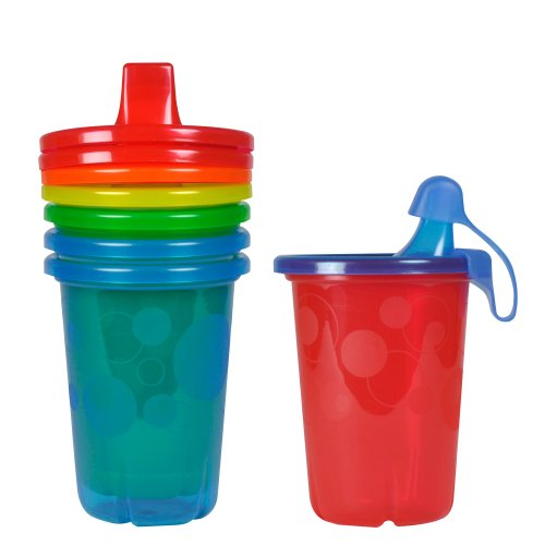 (The First Years Take & Toss Spill-Proof Sippy Cups, 10 Ounce, 4 Count )