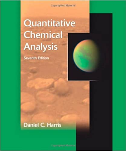 Quantitative Chemical Analysis: Daniel C. Harris: 9780716770411