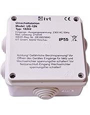 solartronics Omschakelstation IVT US-12N 230V 12A NIEUW OVP