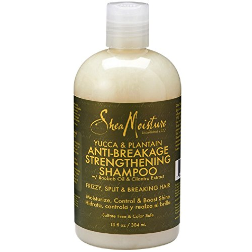 Shea Moisture Yucca & Plantain Anti-Breakage Strengthenin...