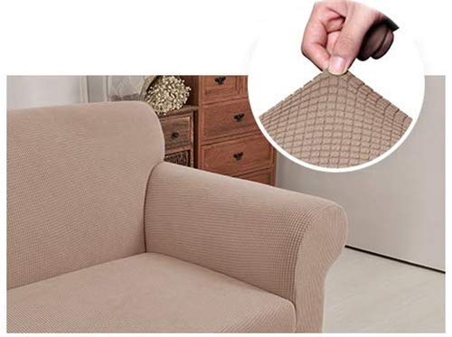 SHELY Sofa Covers Slipcover Durable Stretch Jacquard Sofa Couch 1 Pieces Knit Sofa Slipcovers