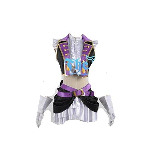 Love Live 2 Sonoda Umi Dancing StarsOnMe Halloween cosplay costume (Dance Costumes Russia)