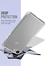 Silk iPhone 7 Clear Case - PureView for iPhone 7 [Ultra Slim Fit Protective Clear Cover] - Crystal Clear