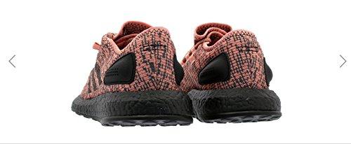 Scarpa Da Running Adidas Performance Mens Pureboost Rosa / Nero / Nero