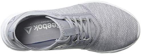 Reebok Astroride Edge - Chaussures de course pour femme, gris (Knit-cool Shadow/Sprt White), 35.5 EU