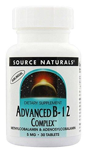 SOURCE NATURALS Advanced Methylcobalamin Adenosylcobalamin