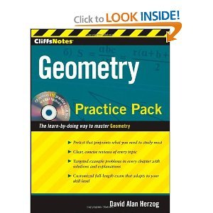 Download CliffsNotes Geometry Practice Pack byHerzog pdf