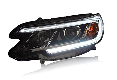 GOWE Car Styling For Honda CRV headlights 2015 2016 head lamp LED DRL front light Bi-Xenon Lens xenon HID Color Temperature:4300k;Wattage:55w 0