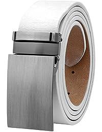 Men's Dress Belt Jeans Belt Full Grain Genuine Leather Variety Colors 9026