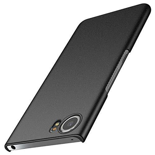Avalri BlackBerry Keyone Case, Ultra Thin Anti-Fingerprint and Minimalist Hard PC Cover for BlackBerry Keyone (Matte Dark)