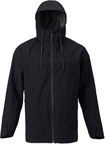 Mens Jacket Fleece Burton Lightweight (Burton Men's Gore-Tex Pack rite Jacket, True Black, Medium)