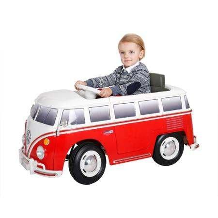 Volkswagen Bus Ride On 6V Ride On Power Wheels