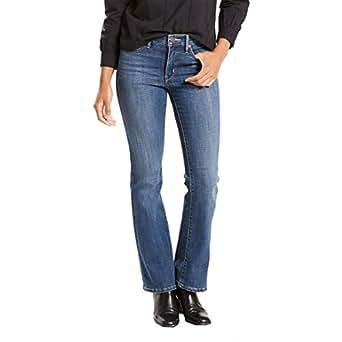 Calça Jeans Women Levis 315 Shaping Bootcut Média