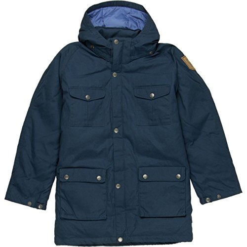 Fjallraven F80513 Kids Kids Greenland Down Parka, Blueberry - 152 by Fjallraven