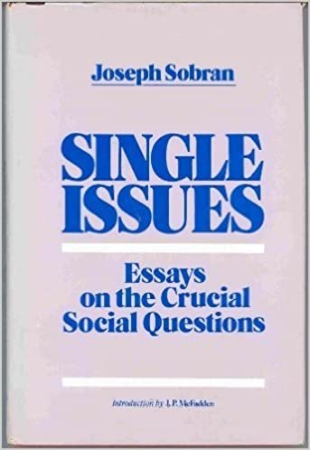 High School Entrance Essay Single Issues Essays On The Crucial Social Issues Joseph Sobran Jp  Mcfadden Amazoncom Books Professional Writing Services Melbourne also Buy Essay Papers Single Issues Essays On The Crucial Social Issues Joseph Sobran  Essay Thesis Statement Examples