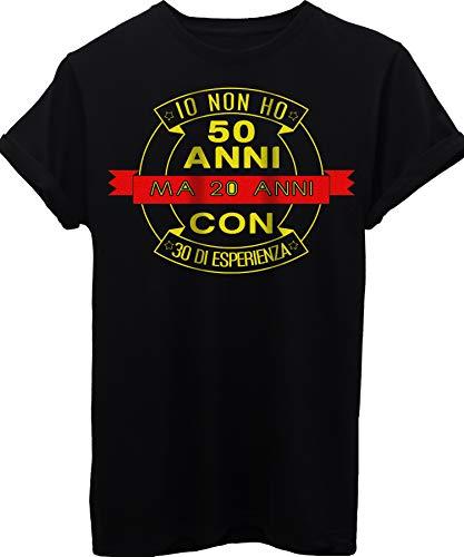 Di 20 Image compleanni Ho Non Esperienza shirt 50 Con Anni T Ma 30 Compleanno Nera Regalo wz4wnrRq7
