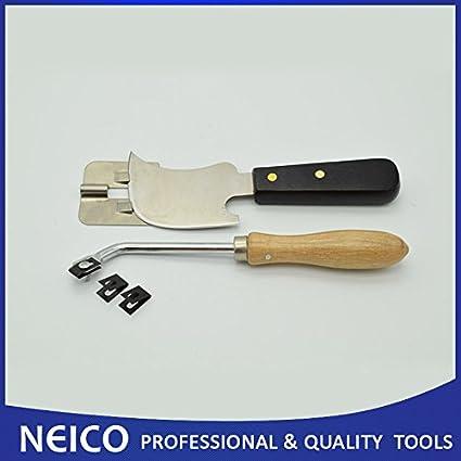 Herramientas de suelo – suelo de vinilo Kit de soldadura, luna cuchillo y herramientas acanalar