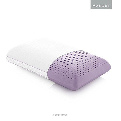 Z Zoned ACTIVEDOUGH Pillow Infused with All Natural Lavender Oil - New ACTIVEDOUGH Formula is Responsive, Supportive, and Plush - Mid Loft - Queen from MALOUF