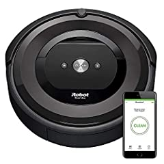 The Roomba e5 Robot Vacuum is packed with performance for powerful pickup. The premium 3-Stage Cleaning System cleans the dirt and pet hair you see—and the allergens and dust you don't. Intelligent sensors guide the robot throughout your home...