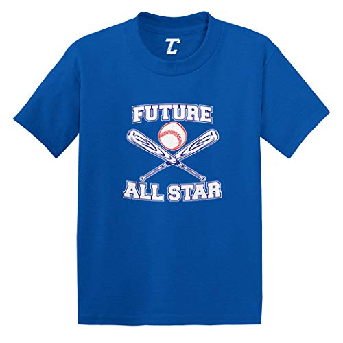 Future All Star - Baseball Infant/Toddler Cotton Jersey T-Shirt (Royal Blue, 18 Months)