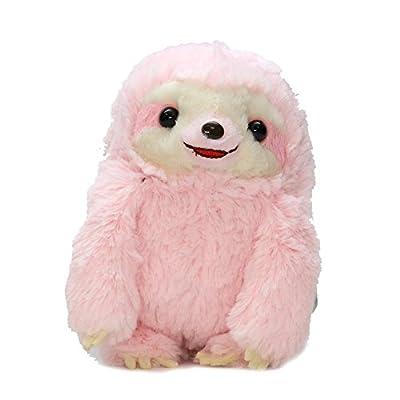 Amuse Sloth Plush Namakemono Mikke Nakamatachi Momoko (Pink) - Sloth Plush 5.1&Quot; Height - Authentic Kawaii From Japan - Amuse