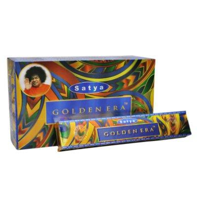 Satya Golden Era Incense Sticks 180 Grams Full Box