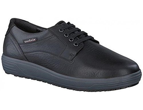 Mephisto Black Verano Mobils Wide Leather Extra aH71H