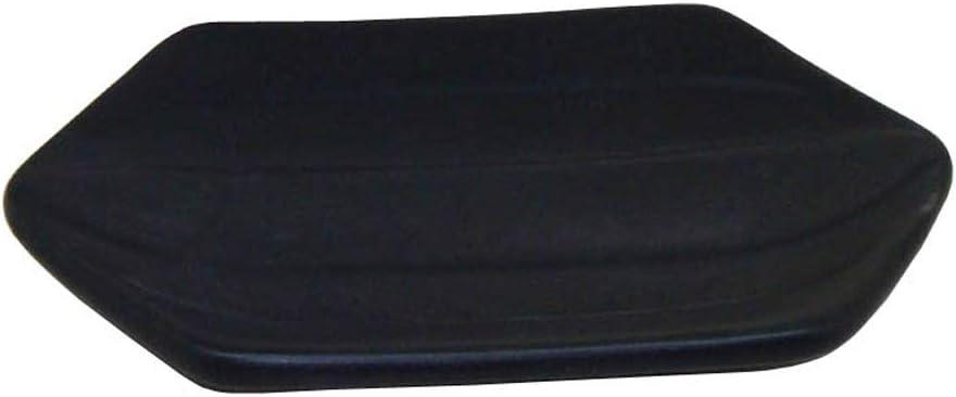 Fregadero de Cocina encimera Slivy Soportes de jabonera de cer/ámica Hexagonal Moderna Simple Soportes de Esponja de jab/ón de Mesa Creativa for ba/ño Adornos Decorativos -Negro Hotel
