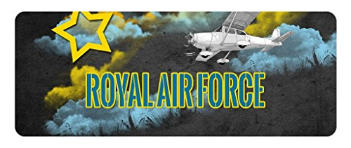Makoroni - ROYAL AIR FORCE Aviation Pilot Car Laptop Wall Sticker
