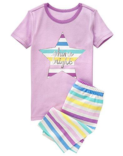 Crazy Girls Short Sleeve Pajamas product image