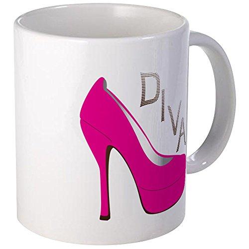 CafePress Shoe Diva Mug Unique Coffee Mug, Coffee Cup