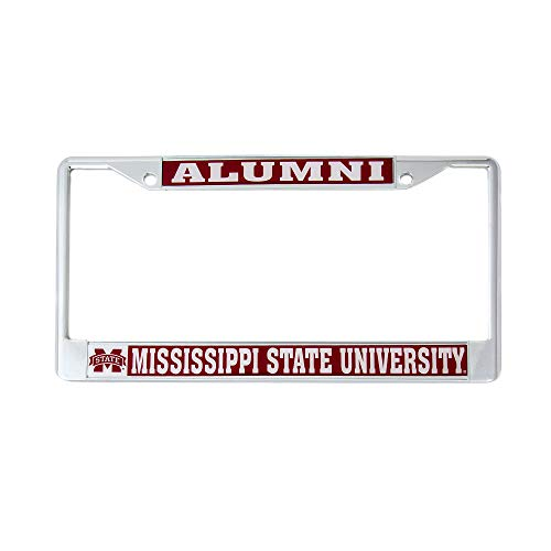 - Desert Cactus Mississippi State University Alumni License Plate Frame for Front Back of Car Officially Licensed MSU Bears