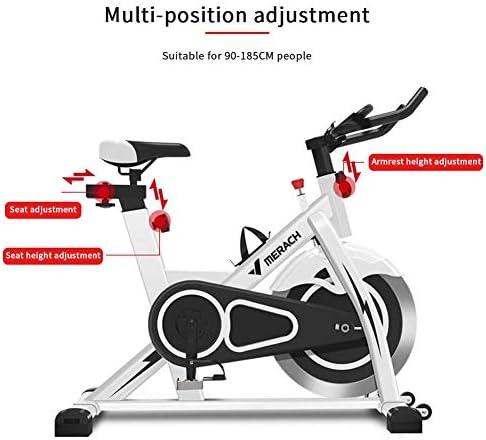 LOO LA Bicicleta estática de Spinning Fitness, Profesional ...