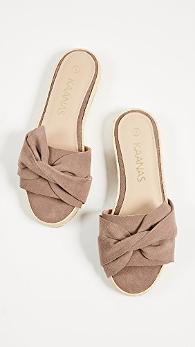 KAANAS Slide Women's Sandal Sayulita Mauve Bow TxT6rw