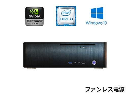 【国産】 【スリム B07HFD3QVM メモリ16GB ゲーミングPC 静音】【第8世代Core搭載】【ファンレス電源搭載】 SlimPc TM130G Core i3 グラボ搭載 SSD 480GB メモリ16GB DVD Windows10PRO Office ブラック 静音 1年保証 パソコンショップaba B07HFD3QVM, MI工房:be39e070 --- svecha37.ru