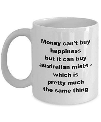 Australian Mists Mug Gift Ideas Mom Dad Mommy Daddy Mummy Coffee Tea Cup Happiness Same Thing ()