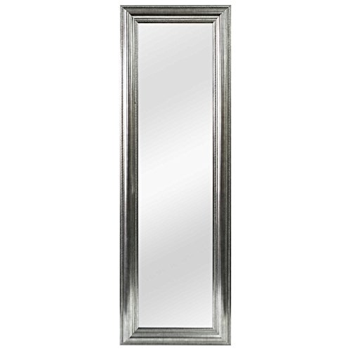 Better Over-the-Door Mirror Silver Double Bead 53.5-Inch x 17.5-Inch (Mirror For Sale Full Length)