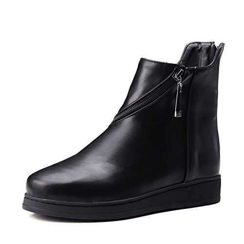 1TO9 Womens Platform Zipper Imitated Leather Boots